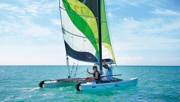 Sailing in Mauritius